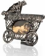 Kinderwagen (Verzilverd)